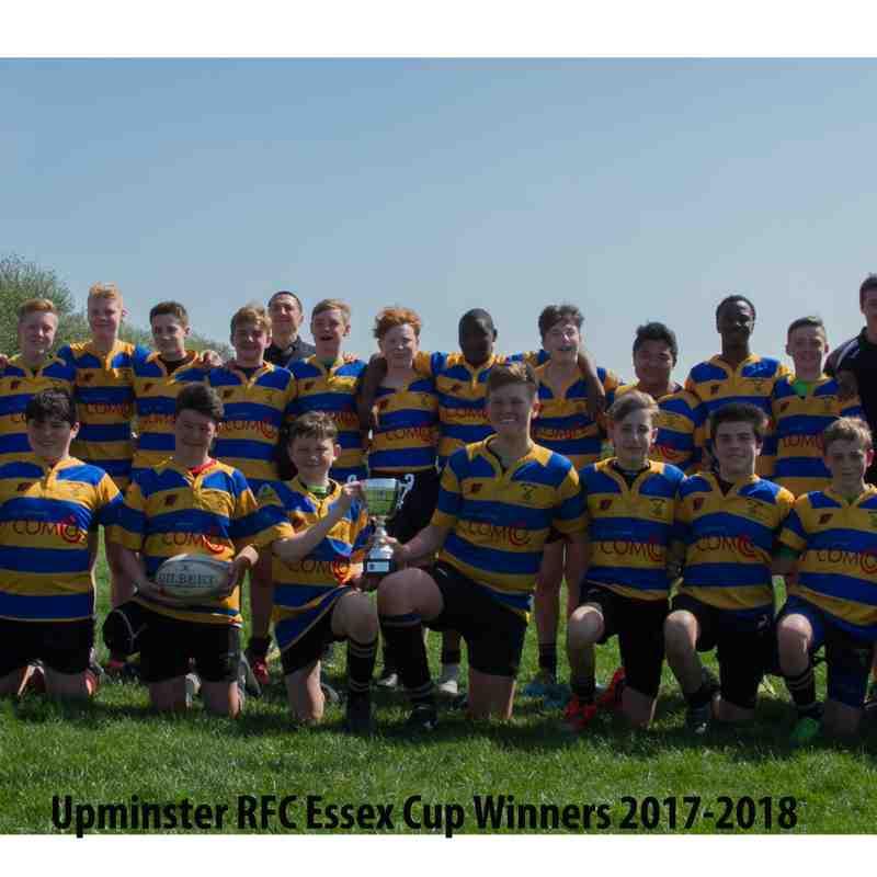 Upminster v Harlow Cup Game