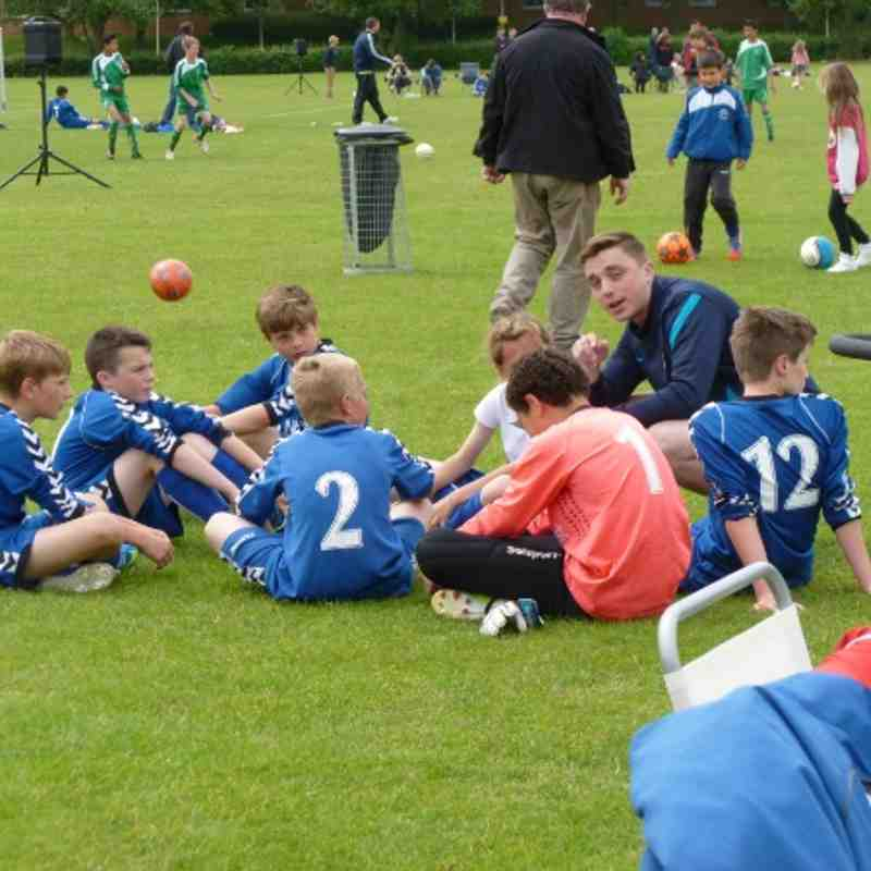 Herne Bay Tournament Sun 16th June Vs Thanet Colts 1-1