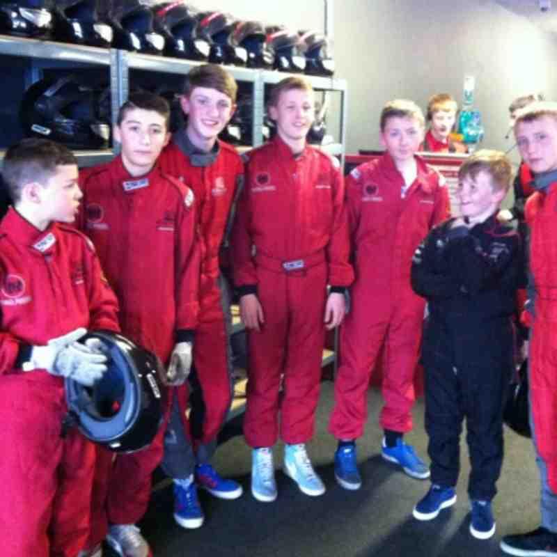 Under 14s Go Karting 2013