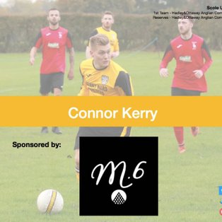 'Connor Kerry with a brace to seal the points  against Sheringham'