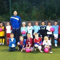 Bristol Rovers at U7 session