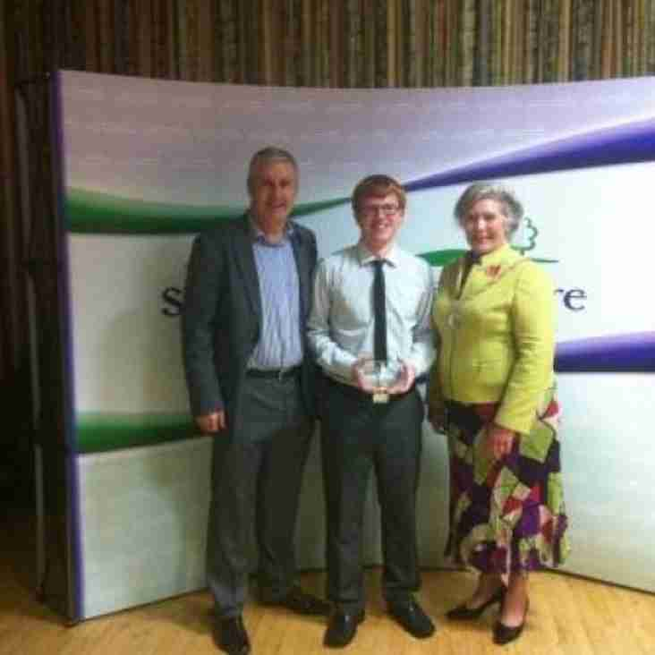 Ross Lee Wins South Glos Young Coach of the Year