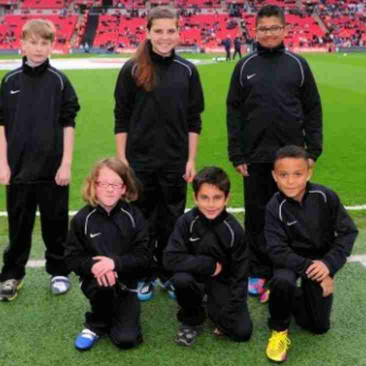 BSYFC Player selected for Wembley England Match