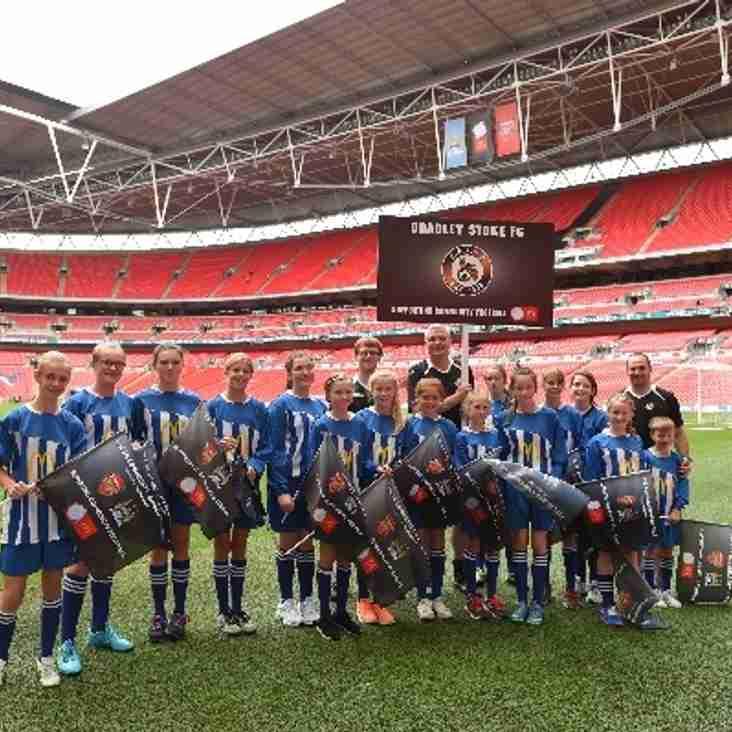 BSYFC U14 Girls win through to the GFA County Cup Final