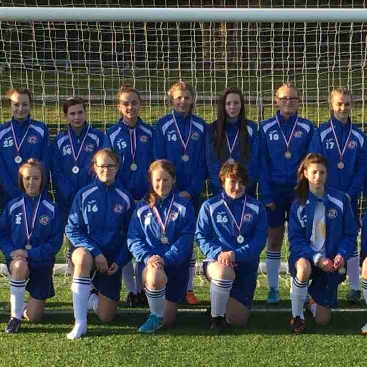 BSYFC U14 Girls edged out in GFA County Cup Final