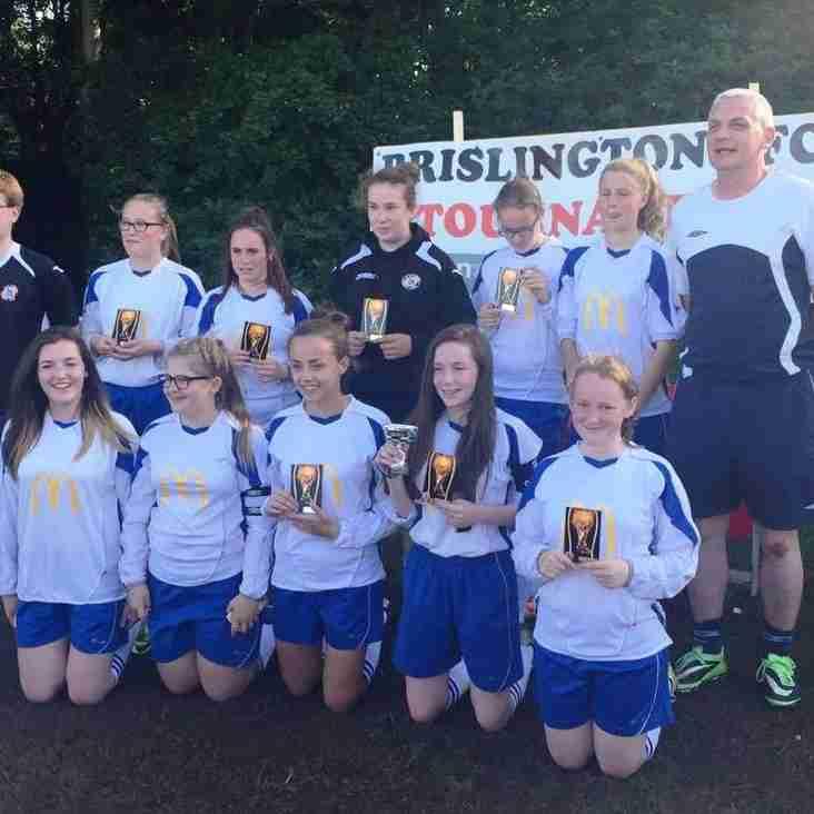 BSYFC U14 Girls Win Brislington Tournament