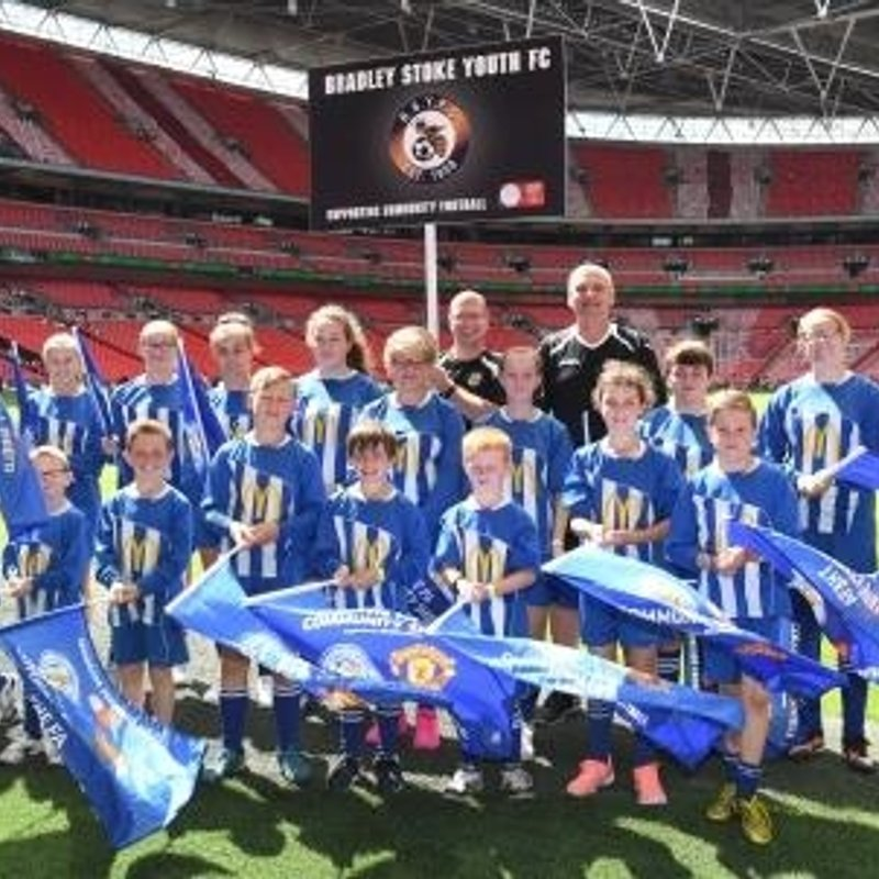 BSYFC at Wembley for Community Shield walk around for the third time in 3 years