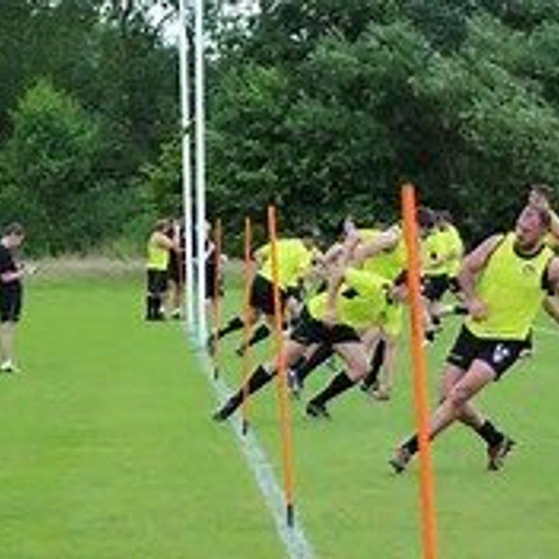 Pre-season Training Starts Tuesday 4th July 2017.