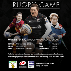 Saracens Rugby Camp Easter 2017