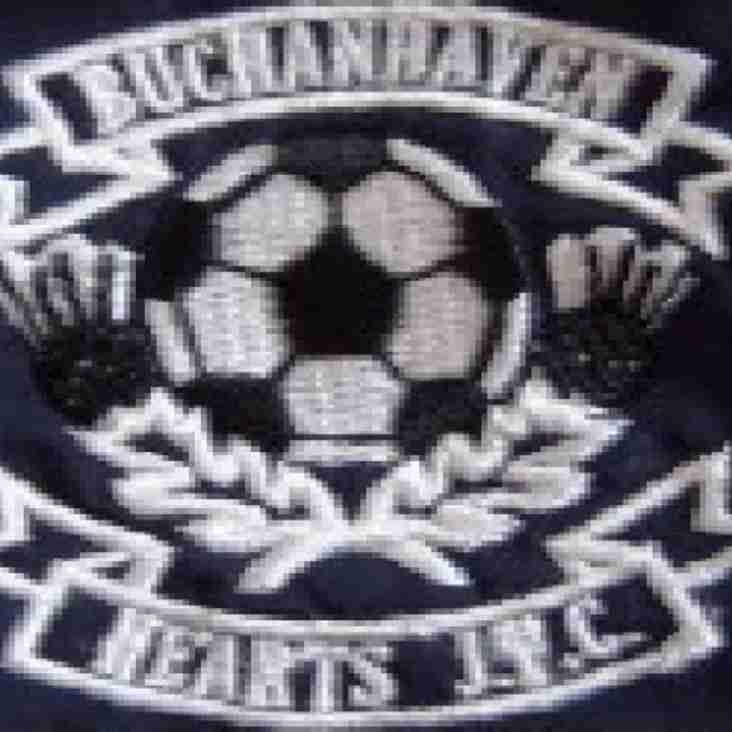 Buchanhaven Hearts JFC Transfer List Goalkeeper Lee Thomson
