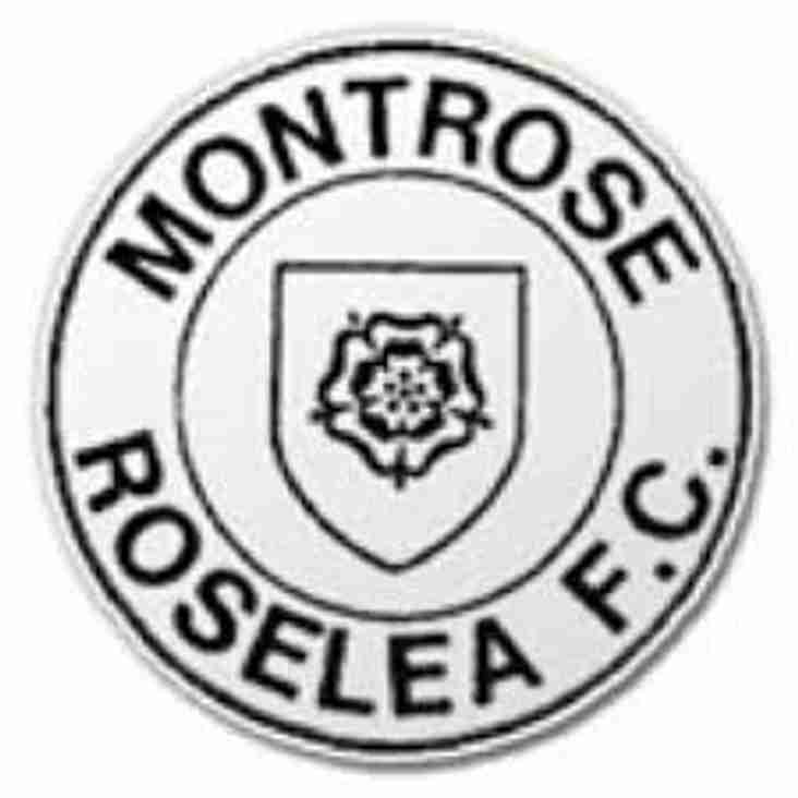Montrose Roselea place Thomson on the transer list