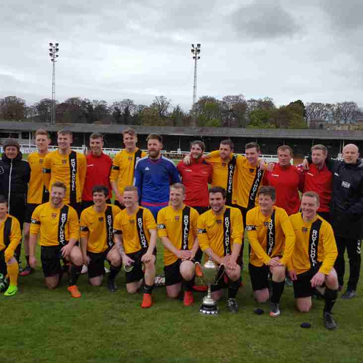 Islavale win the Elginshire Cup