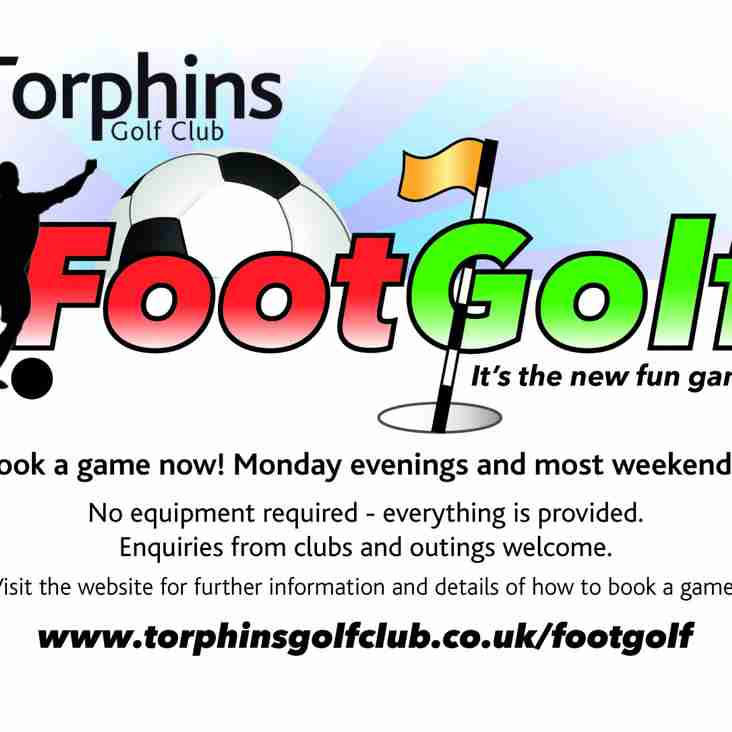 Fancy a game of Footgolf?