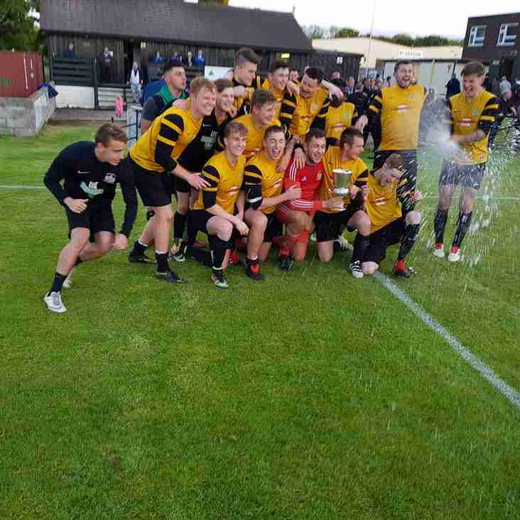 East End spot on to complete treble cup success