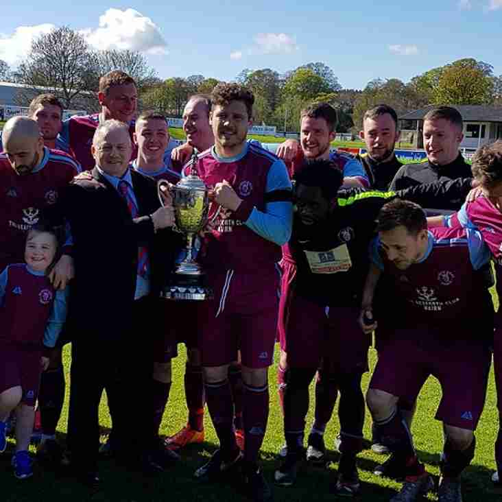 Nairn St Ninian spot on to win the Elginshire Cup