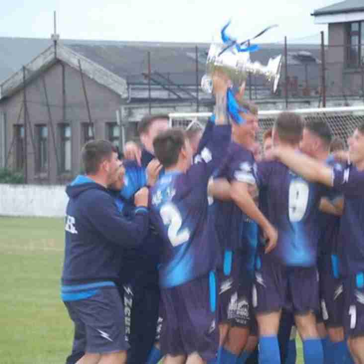 Newburgh Thistle win PMAC Group McLeman Cup
