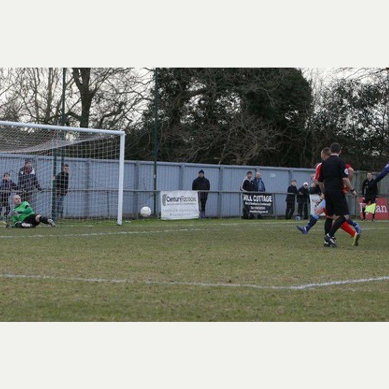 Crowborough Athletic v Coleshill Town 28.1.17