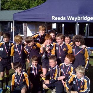 U12Bs triumph at the Reeds Festival