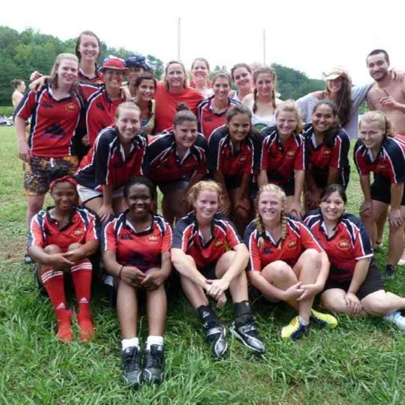 Summer 2012 - Pitch A Tent 7's (Women)