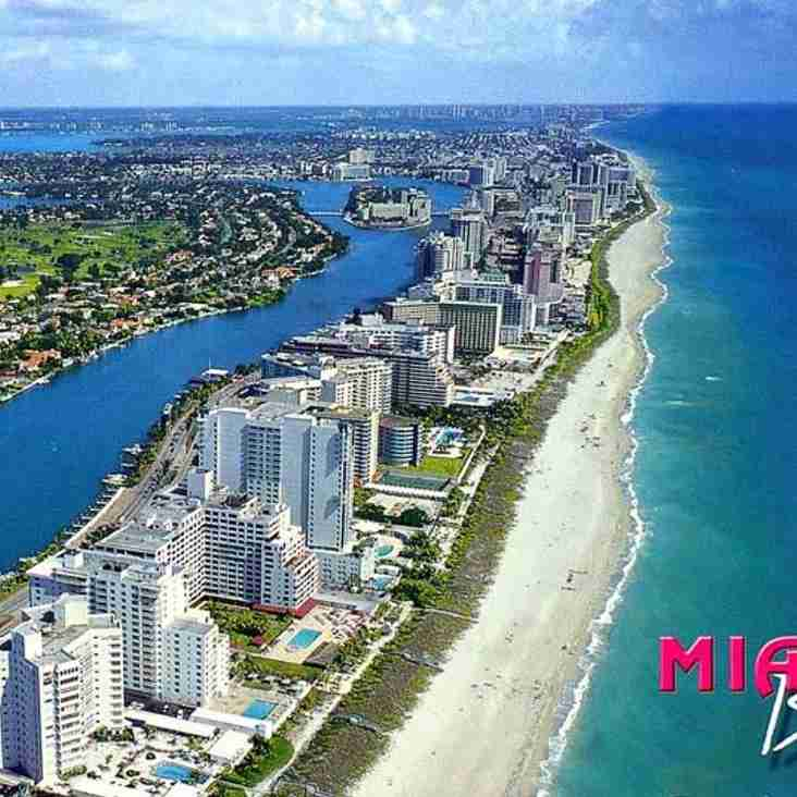 Fall 2015 Tour is to Key West / Miami