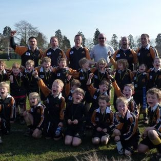 Great festival win for U7 As and Bs