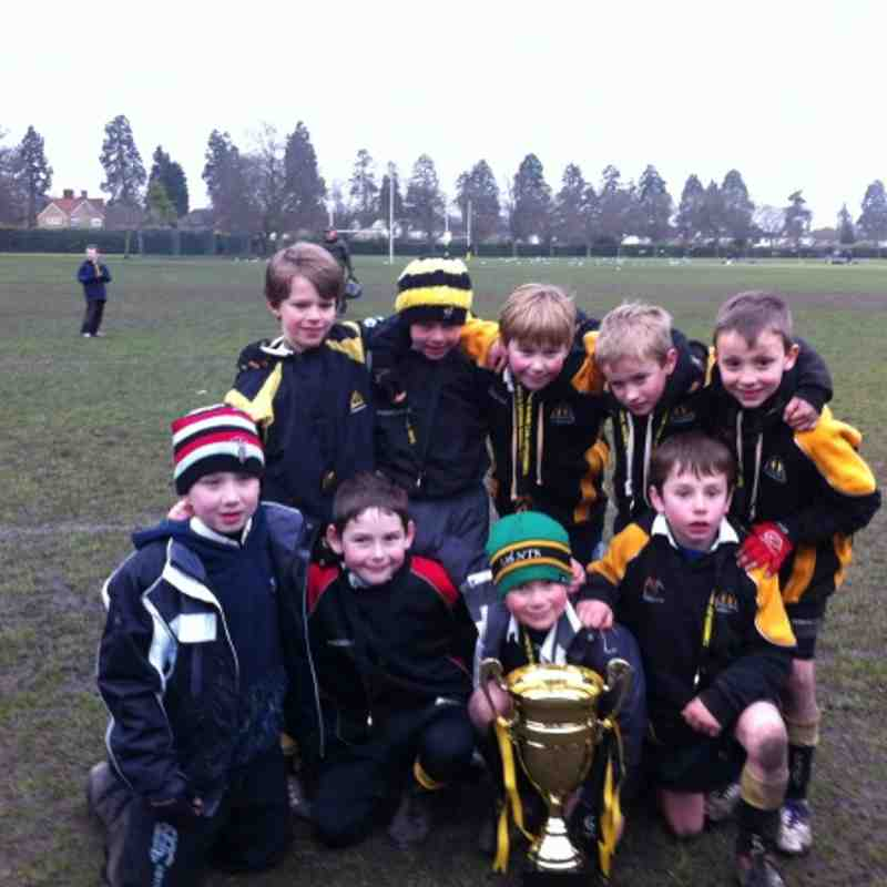 U8 As at Camberley 10th March 2013