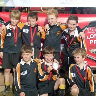 2nd place for the U8s Farnham As at Dorking Festival