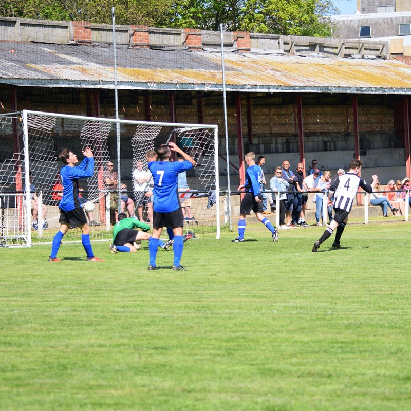 Encouraging victory for Harwich against a strong Witham Town team.