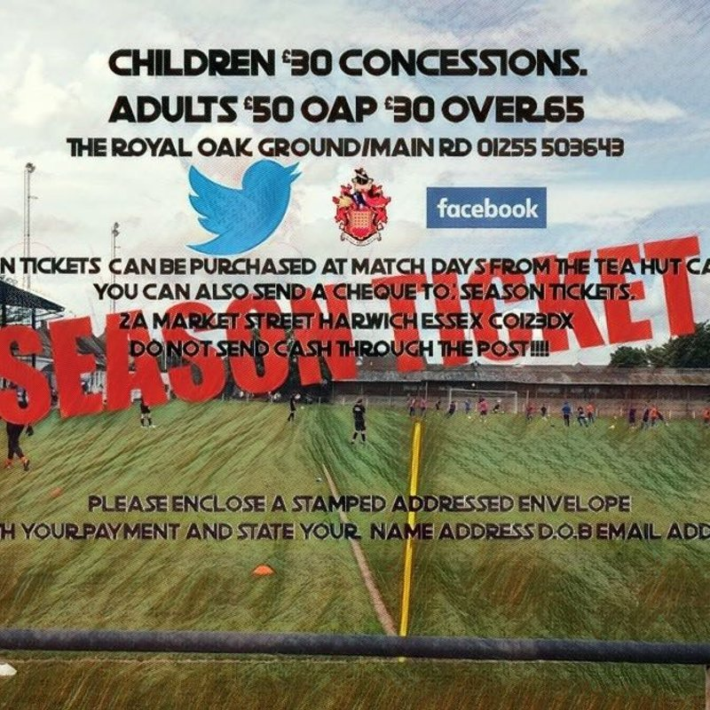 Season Tickets available now
