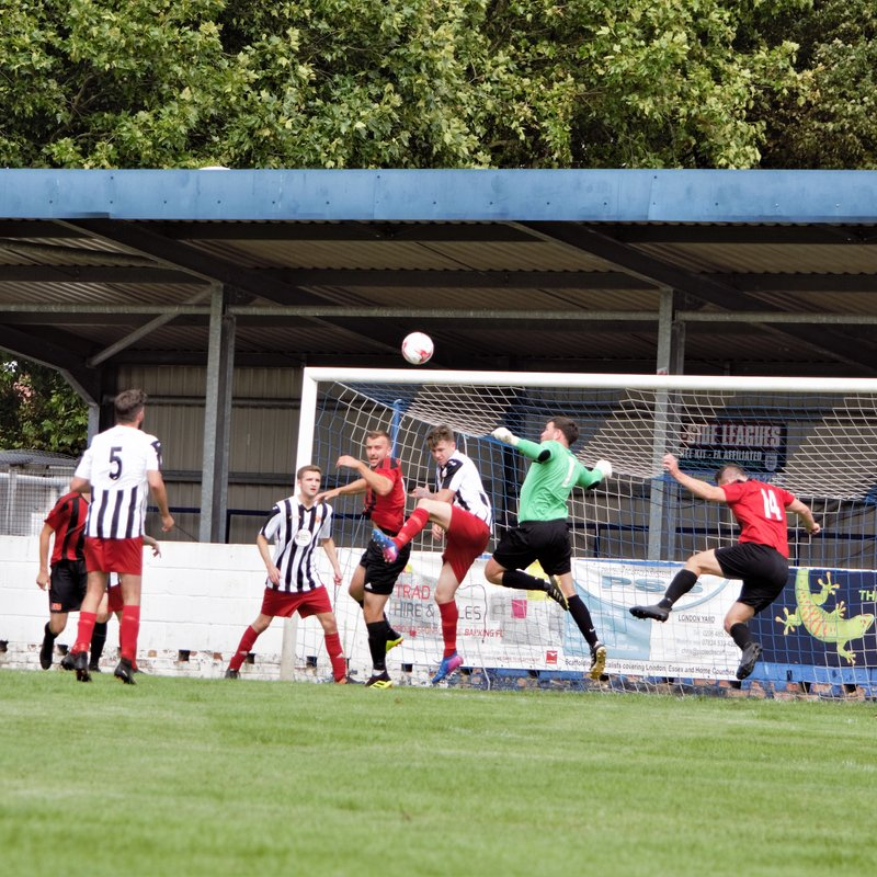 Disappointment for Harwich as they suffer defeat by May & Baker