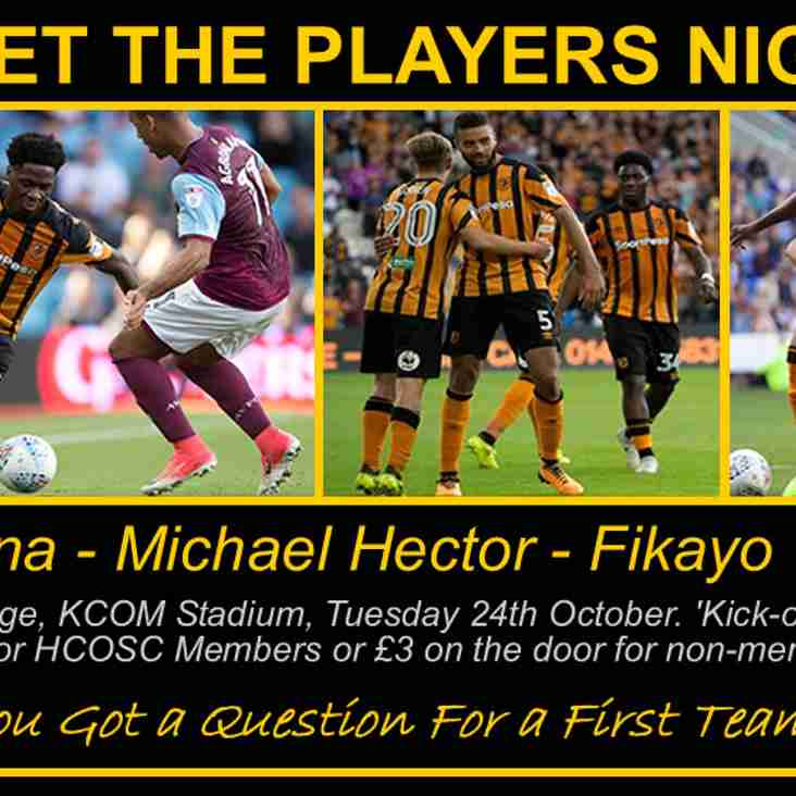 Meet The Players - LATEST NEWS