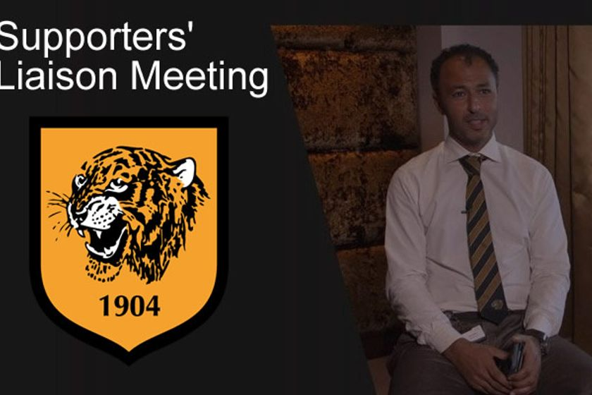 Nov Supporters Liaison Meeting