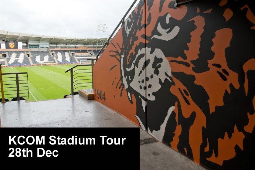 KCOM Stadium Tour [Thurs 28th Dec]