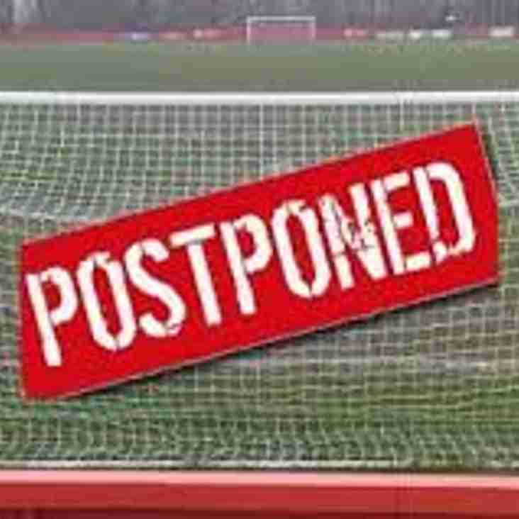Sorry - Tonight's (22nd March) Under 21 Game v Wellington Amateurs Has Been Postponed - The Pitch Is Waterlogged