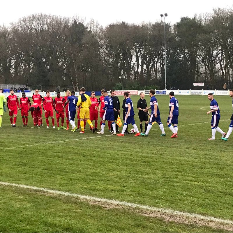 Drayton Lose Out 5 - 1 At Chasetown