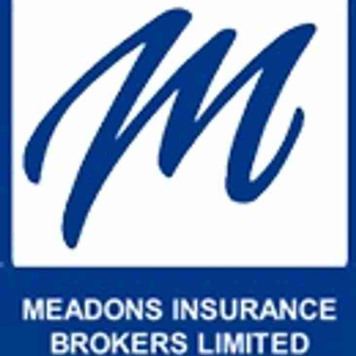 A Massive Welcome To Our New Sponsors - Meadons Financial Management Ltd