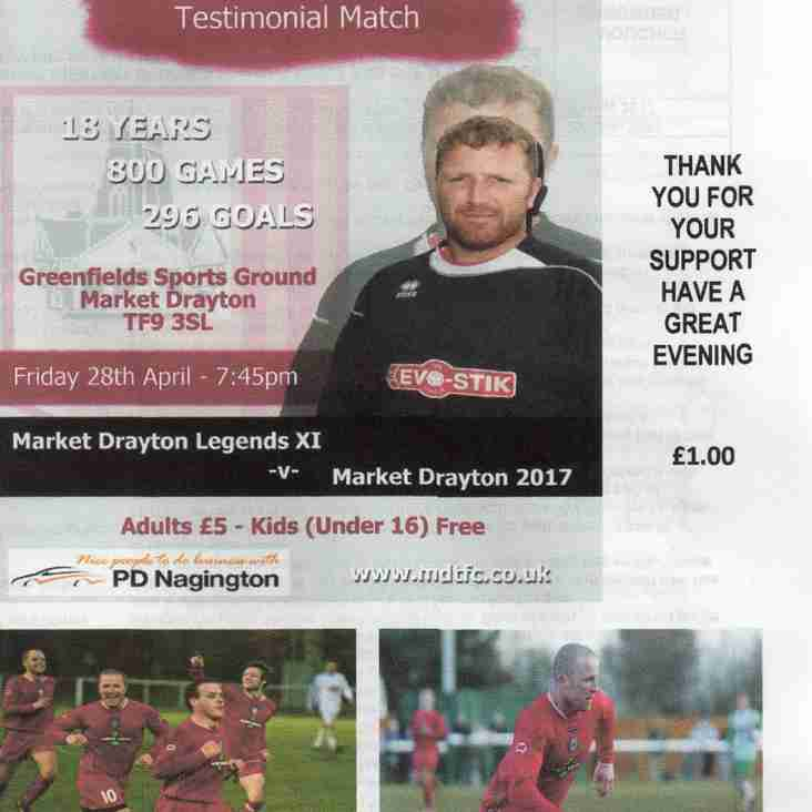 Support Martyn's Testimonial And Purchase A Programme, Also Find Out Who Is The Worst Player, Biggest Moaner - Plus Many More Of Martyn's Inside Information