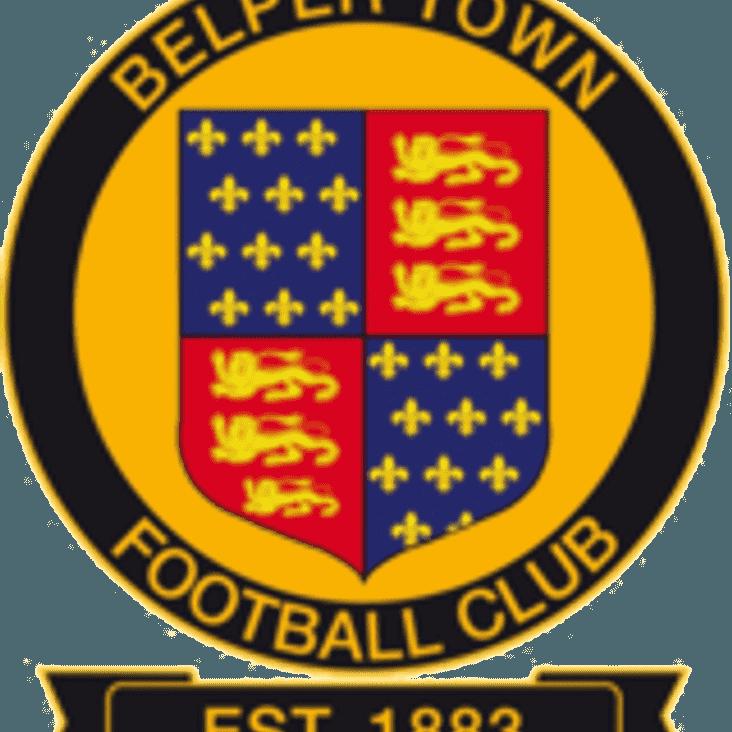 Match Preview - Belper Town v Market Drayton FC - Saturday 6th January 2018