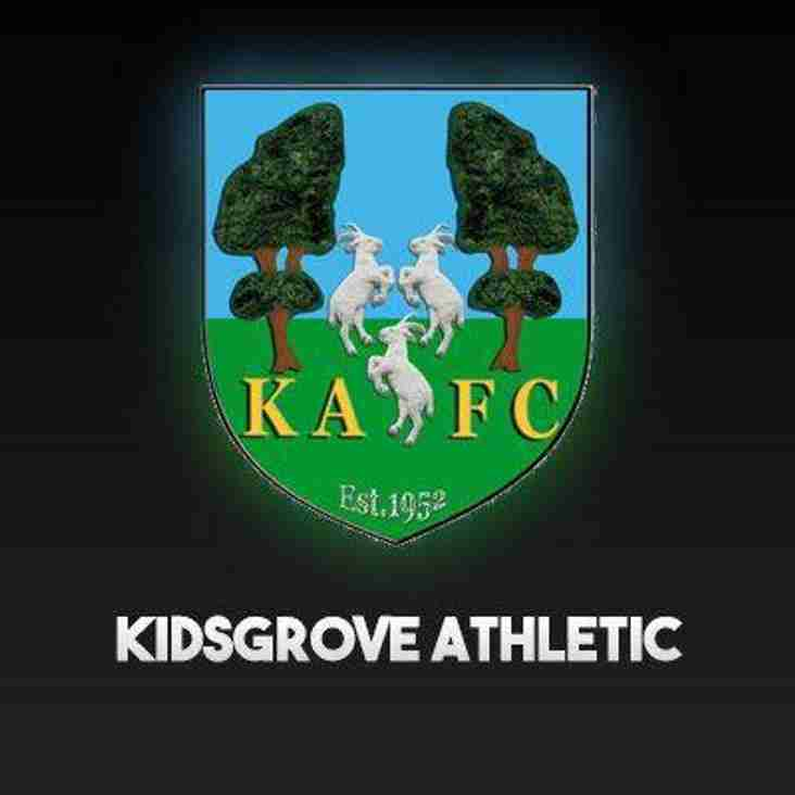 'Away' Match Preview - MDTFC v Kidsgrove Athletic (Wednesday 26th September 2018)