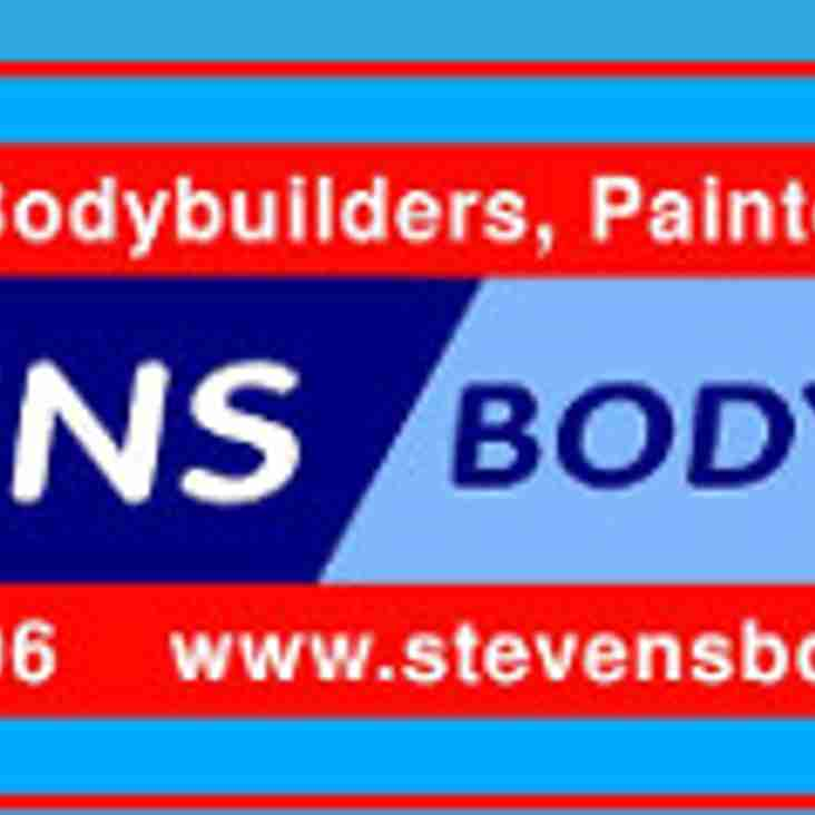 Many Thanks To P D Stevens For Sponsoring The Servicing & Repair Of The MDTFC Team Minibus