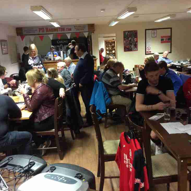 MDTFC Race Night Was A Galloping Success - Sponsored By Palethorpes Bakery