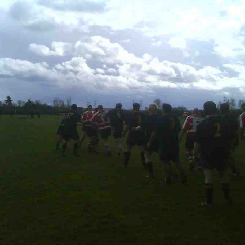 Saints v Ellingham & Ringwood 12/04/08