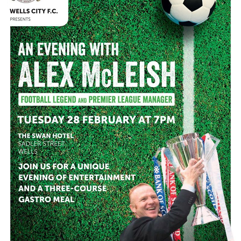 Alex McLeish Fundraising Dinner at The Swan Hotel