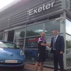 Exeter Nissan Sign up to with the Cockles
