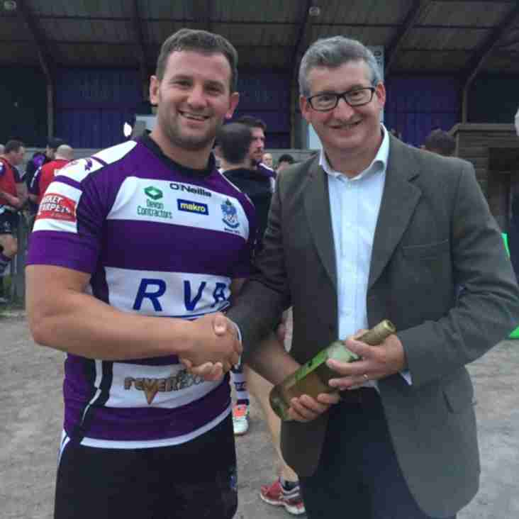Exmouth RFC 43 Exeter Chiefs XV 59