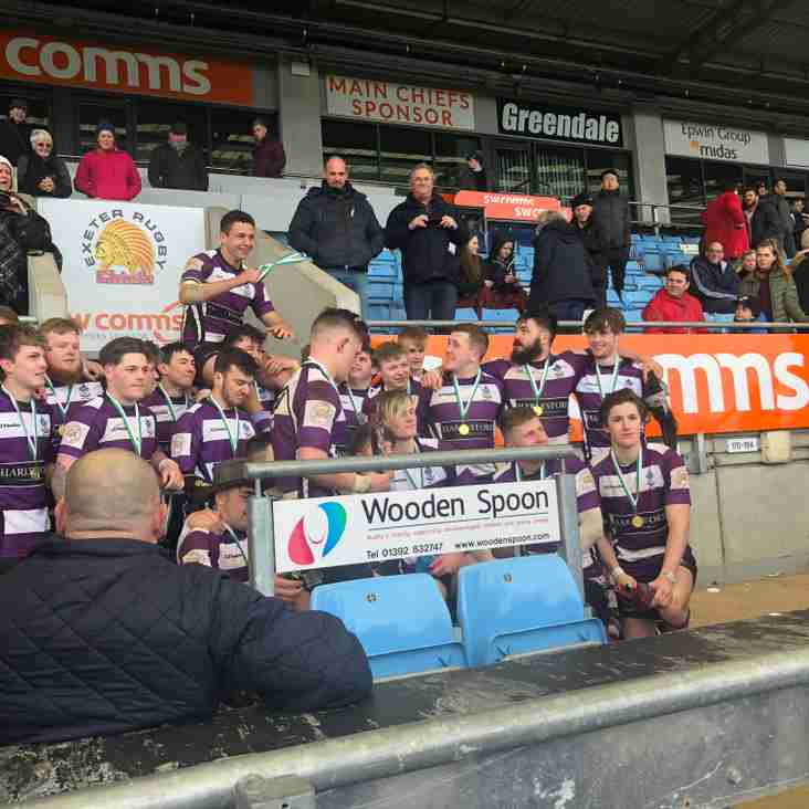 Colts WIN the Shield at Sandy Park