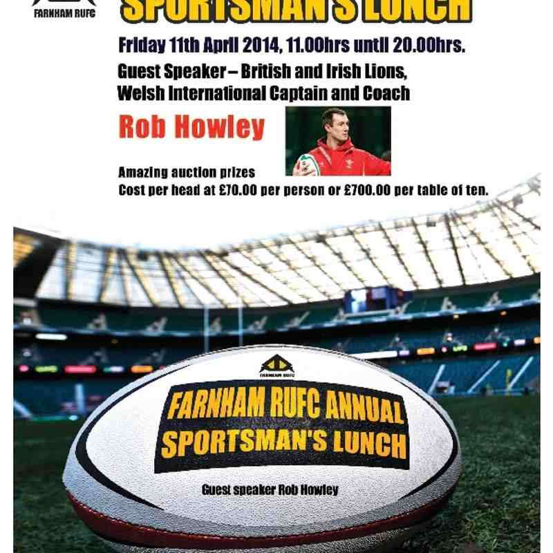 Sportsman's lunch