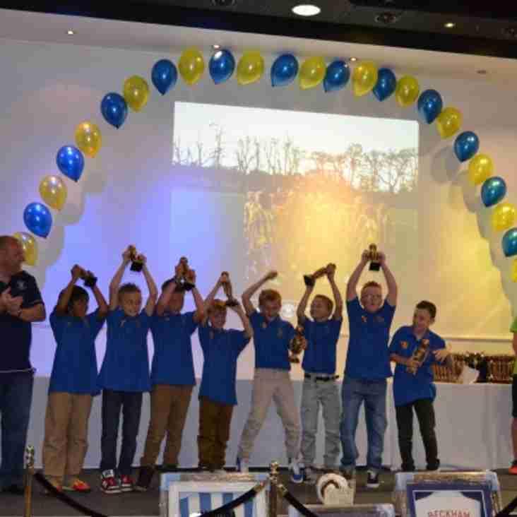 Presentation Photo's of U10's