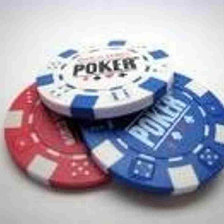Poker Night Friday 29th April 2016