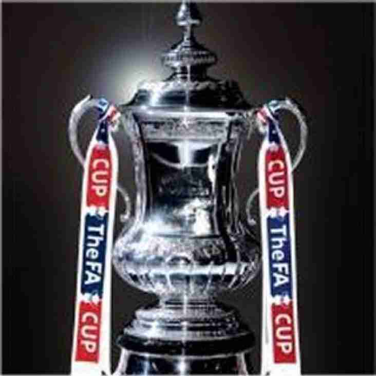 FA Cup Final showing in the clubhouse from 1700hrs